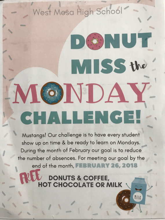 Free Coffe and Donuts will be given the 26th